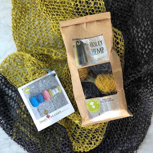 Holey Hemp Kit in Napa Cabbage & Licorice