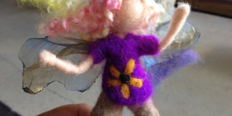 Fairy Needle Felting with Gypsyharte Arts - July 24