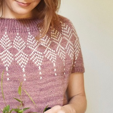 (SOLD OUT) My First Colorwork Sweater - October 9, 16 & 30