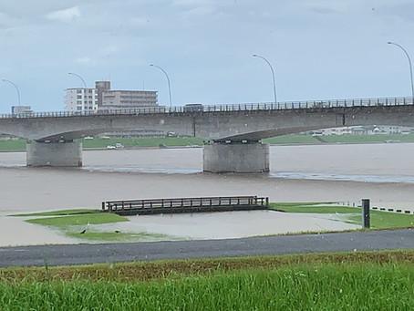 2020年7月6日の大淀川