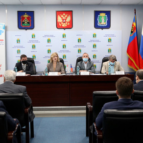 Члены Общественной палаты Кузбасса проверили ход подготовки к отопительному сезону
