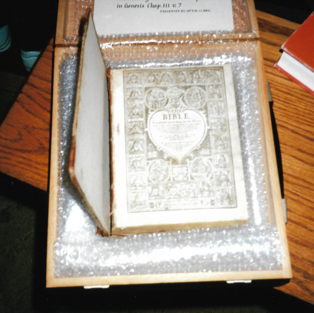 Babworth: Richard Clyfton's Bible (Geneva)
