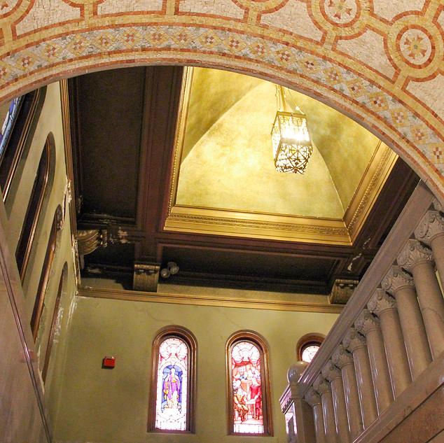 First Church interior