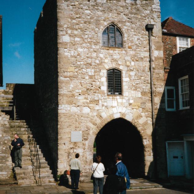 Gate used by Pilgrims: Southampton