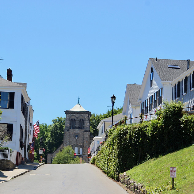 Oldest Street in Plymouth, Leyden St.
