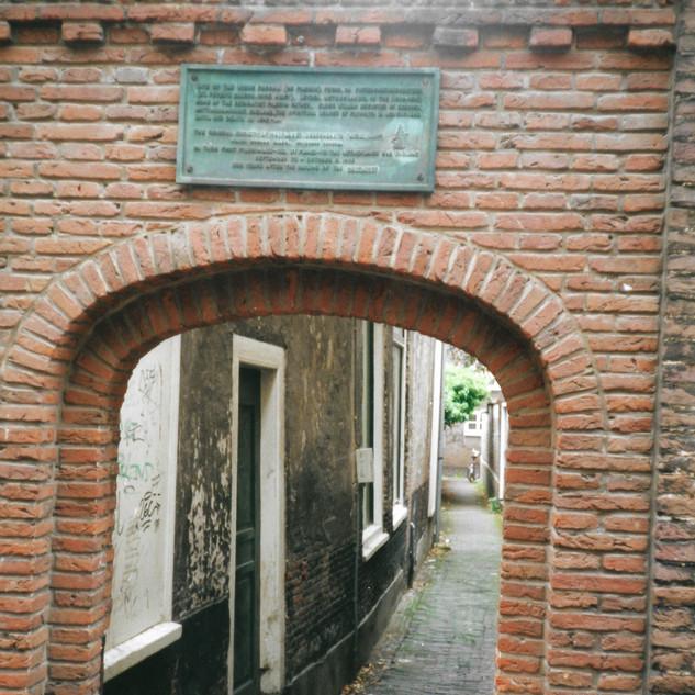 Leiden: William Brewster Birthplace