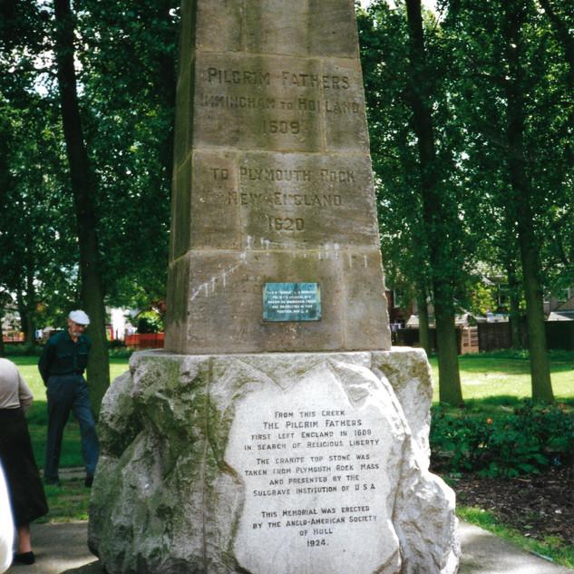 Immingham Pilgrim Memorial