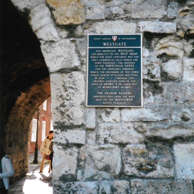 Same gate used by Pilgrims