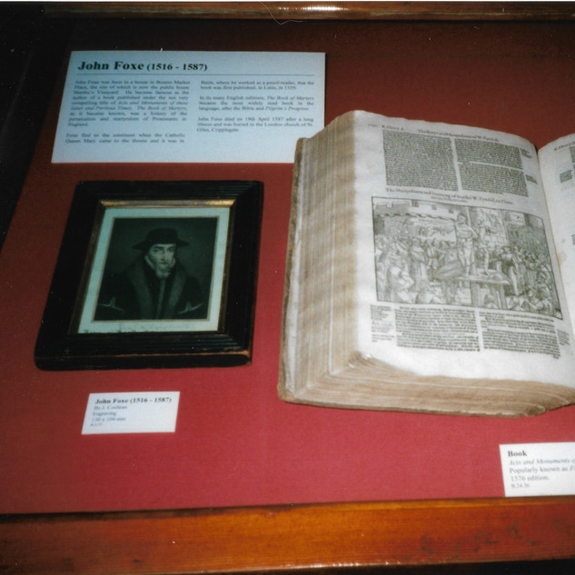 Guild Hall: Foxe's Book of Martyrs