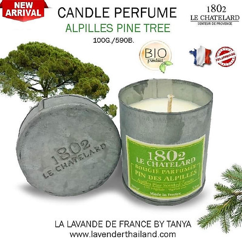 LC 1802 CANDLE PERFUME - ALPILLES PINE TREE - 100G
