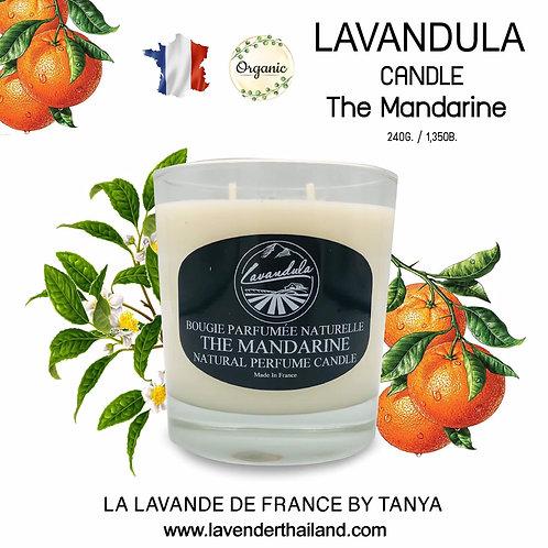 LAVANDULA TEA MANDARIN CANDLE 240GR