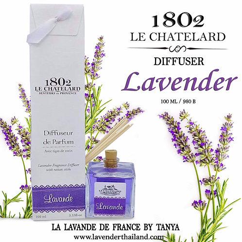 LC 1802 - DIFFUSEUR - RATTAN STICK - 100ML - LAVENDER
