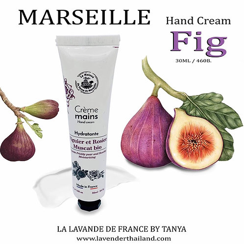 MARSEILLE - HAND CREAM - 30G - FIGUE (Prickly Pear and Rosehip)