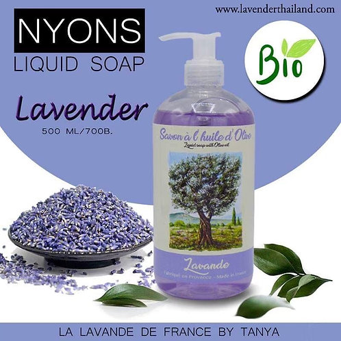 Nyons Liquid soap with Olive Oil - Lavender 500ml