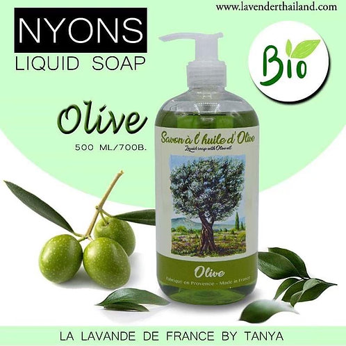 Nyons Liquid Soap with Olive Oil - Olive 500ml