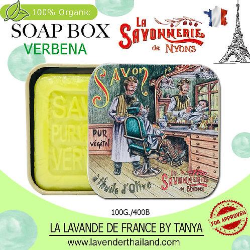 NYONS - SOAP BOX - VERBENA (1) - 100G - 30577 - BARBER SHOP