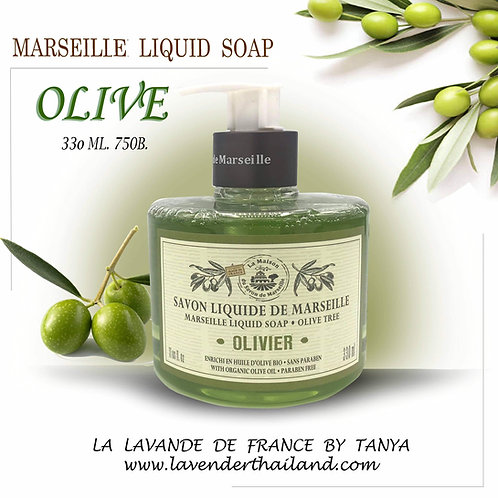MARSEILLE - LIQUID SOAP - 330ML - OLIVE