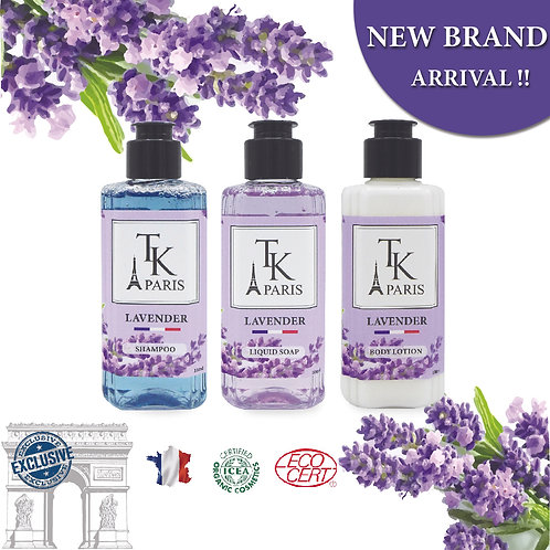 TRAVEL SET BOX TKP LAVENDER 100ML