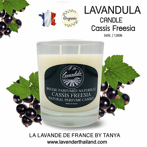 LAVANDULA CANDLE CASSIS FREESIA 240GR