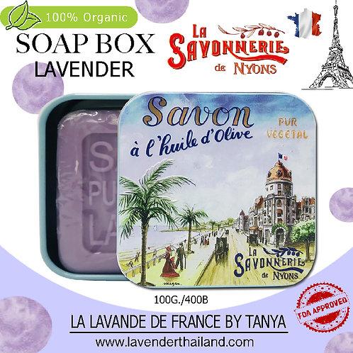 NYONS - SOAP BOX - LAVENDER (3) - 100G - 30572 - PROMENADE DES ANGLAIS