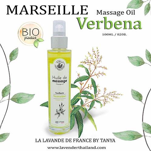 MARSEILLE - MASSAGE OIL - 100ML - VERBENA TONIC