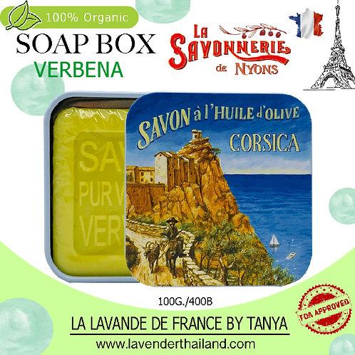 NYONS - SOAP BOX - VERBENA (12) - 100G - 30588 - CORSICA