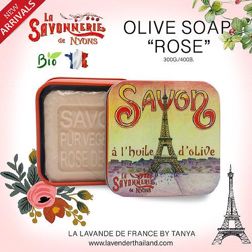 NYONS - SOAP BOX - ROSE (15) - 100G - 30524 - EIFFEL TOWER