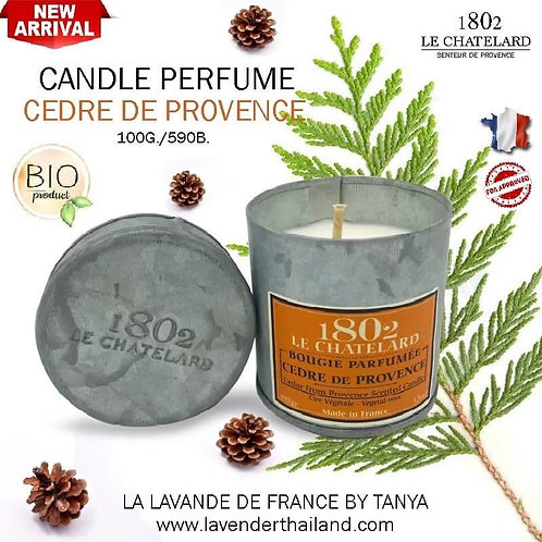LC 1802 CANDLE PERFUME - CEDAR FROM PROVENCE - 100G