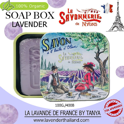 NYONS - SOAP BOX - LAVENDER (6) - 100G - LOVER LAVENDER FIELD 50882
