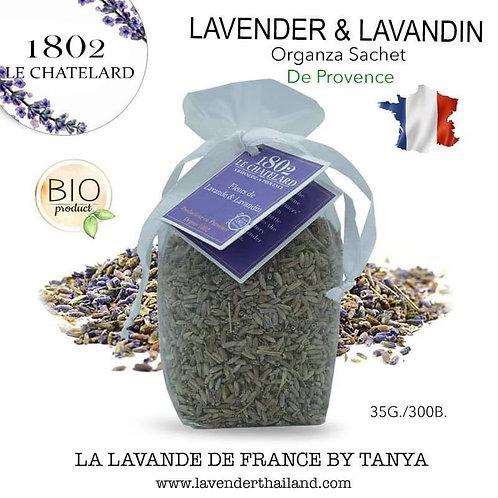 Lavender & Lavandin in Organza sachets 35gr