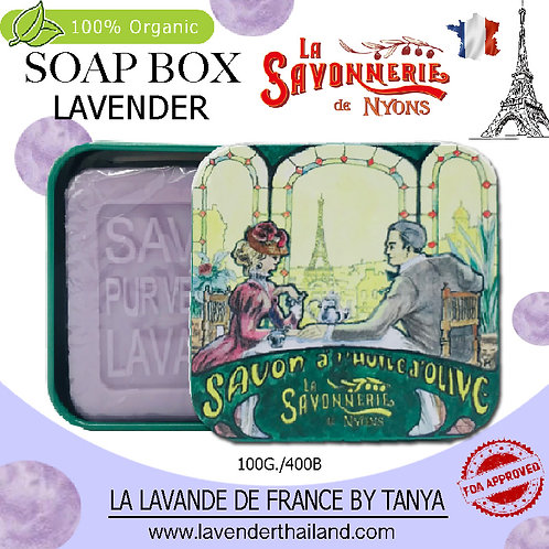 NYONS - SOAP BOX - LAVENDER (4) - 100G - 30580 - LOVER TEA EIFFEL VIEW