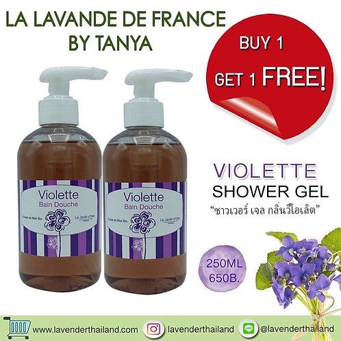 VIOLETTE SHOWER GEL 250ML