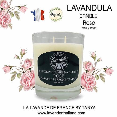 LAVANDULA ROSE CANDLE 240GR