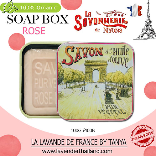 NYONS - SOAP BOX - ROSE (1) - 100G - 30540 - ARC DE TRIOMPHE