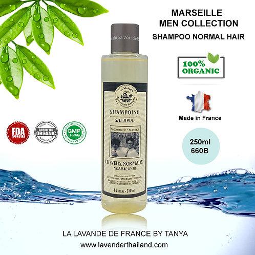 MARSEILLE - MEN SHAMPOO - MISTER - NORMAL HAIR - 250ML
