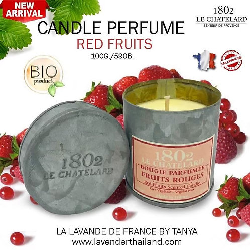 LC 1802 CANDLE PERFUME - RED FRUIT - 100G