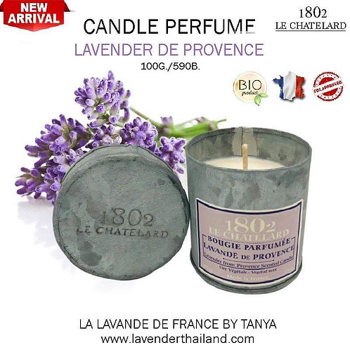 LC 1802 CANDLE PERFUME - LAVENDER FROM PROVENCE - 100G