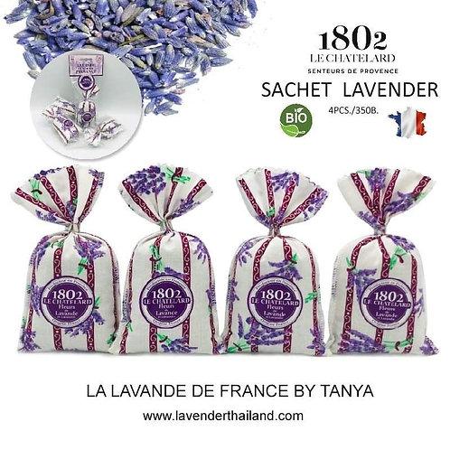 Lavender string of 4 lavender & lavandin sachets