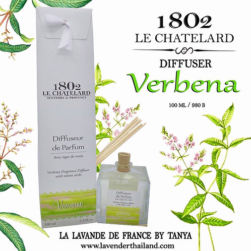 LC 1802 - DIFFUSEUR - RATTAN STICK - 100ML - VERBENA
