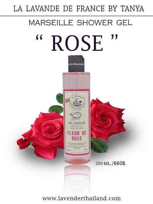 MARSEILLE - SHOWER GEL - 250ML - ROSE