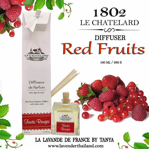 LC 1802 RED FRUITS DIFFUSER - RATTAN 100ml