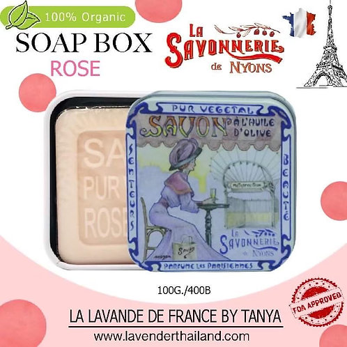 NYONS - SOAP BOX - ROSE (3) - 100G - 30520 - METROPOLITAN