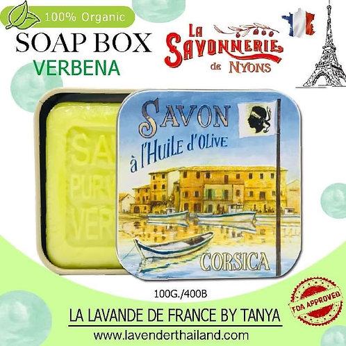 NYONS - SOAP BOX - VERBENA (11) - 100G - 30587 - CORSICA FLAG