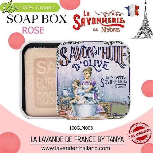 NYONS - SOAP BOX - ROSE (10) - 100G - 30509 - MAMA BABY SHOWER