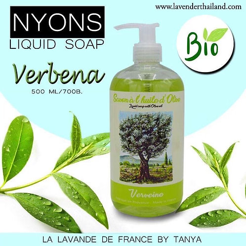 Nyons Liquid Soap with Olive Oil - Verbena 500ml
