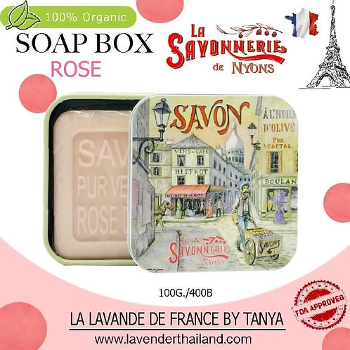 NYONS - SOAP BOX - ROSE (13) - 100G - 30519 - WINE SHOP