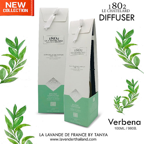 LC 1802 - DIFFUSER WITH RATTAN STICK - VERVEINE - 100ML