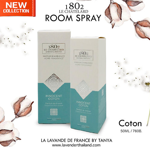 LC 1802 - ROOM SPRAY - COTON - 50ML