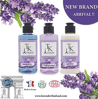 2020 - TRAVEL SET - LAVENDER SET 100ML .