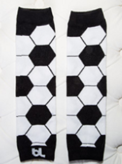Leggings - Soccer ball - Black